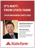 Matt Schomburg - State Farm Insurance