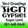 Sign Gypsies Sugar Land