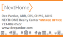 Dee Pardue - NextHome Realty Center