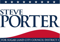Mr. Steve Porter-Sugar Land City Council Member District One