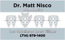 Dr. Matt Nisco, Orthodontist