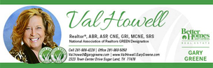 BHGRE Gary Greene - Val Howell, Realtor