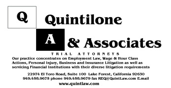Quintilone & Associates - Trial Lawyers