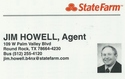 Jim Howell, Agent - State Farm