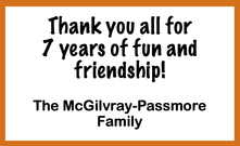 The McGilvray-Passmore Family
