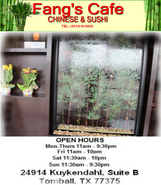 Fang's Chinese & Sushi Cafe