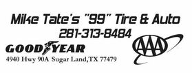 "Mike Tate's ""99"" Tire & Auto"